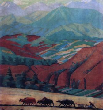 Цвет армянской земли 1969  фильм про