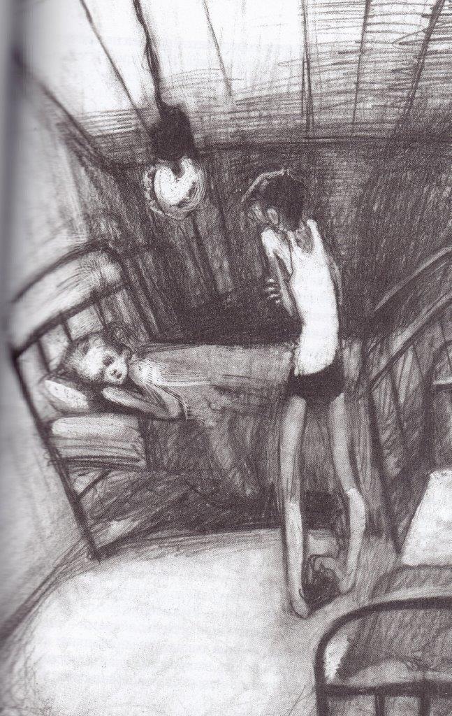 Нажмите для увеличения. Иллюстрации из книги Мальчики из блокады.