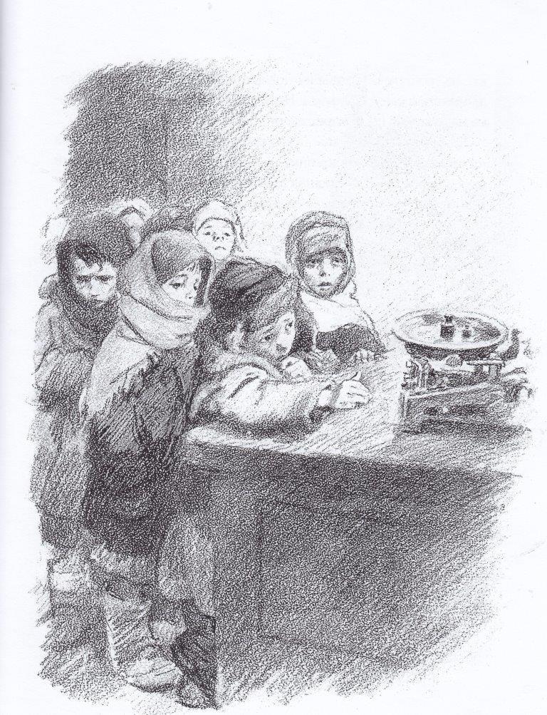 Нажмите для увеличения. Иллюстрации из книги Кирюшка.