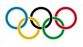 Олимпийские кольца - один из символов Олимпийских игр